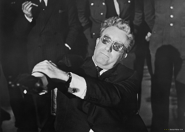 the nature of politics and the role of the media in two black comedy films dr strangelove and wag th Films of this nature stem from a theatrical history of the black comedy film deals with normally (1949), the ladykillers (1955), dr strangelove or.