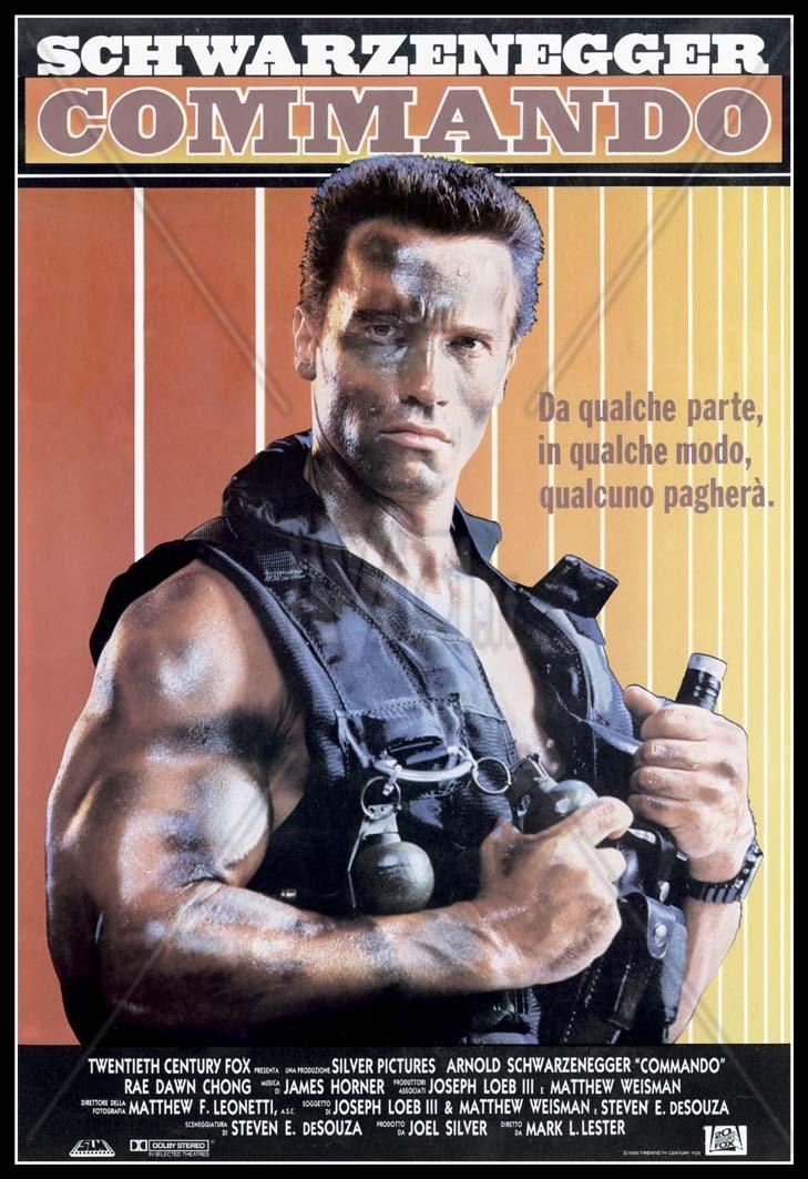 Arnold Schwarzenegger Commando Ficke Nicht Mit Dem Ficker Lass Dampf Ab Bennett Old But Gold Terminator