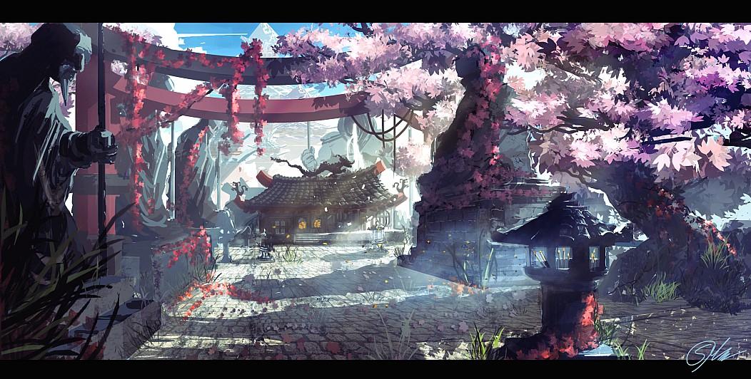 Wallpaper japanische kirschblüten  pr0gramm.com