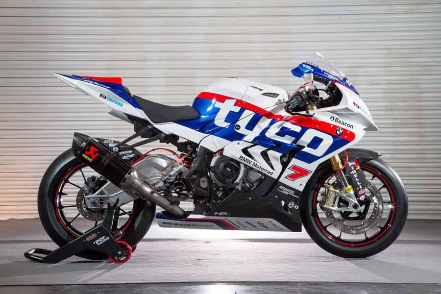 BMW BSBK 2015 Lackierung Hassliche IRRC Isle Of Men TT Krawallovic Motorrad S1000rr Tyco
