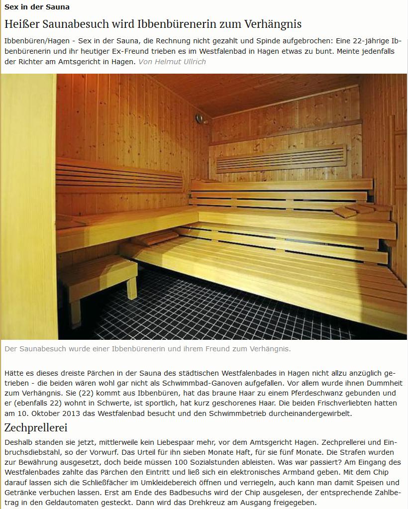 sauna hagen