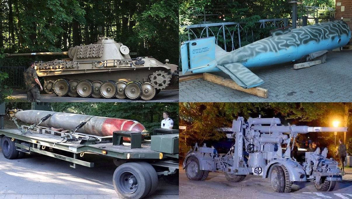 Panther Tank Found In Basment Of Gun Collector In Kiel