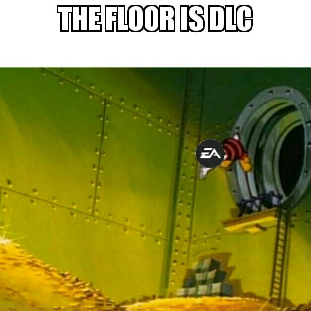 9fag EA Games floor is DLC leider wahr the floor is dlc