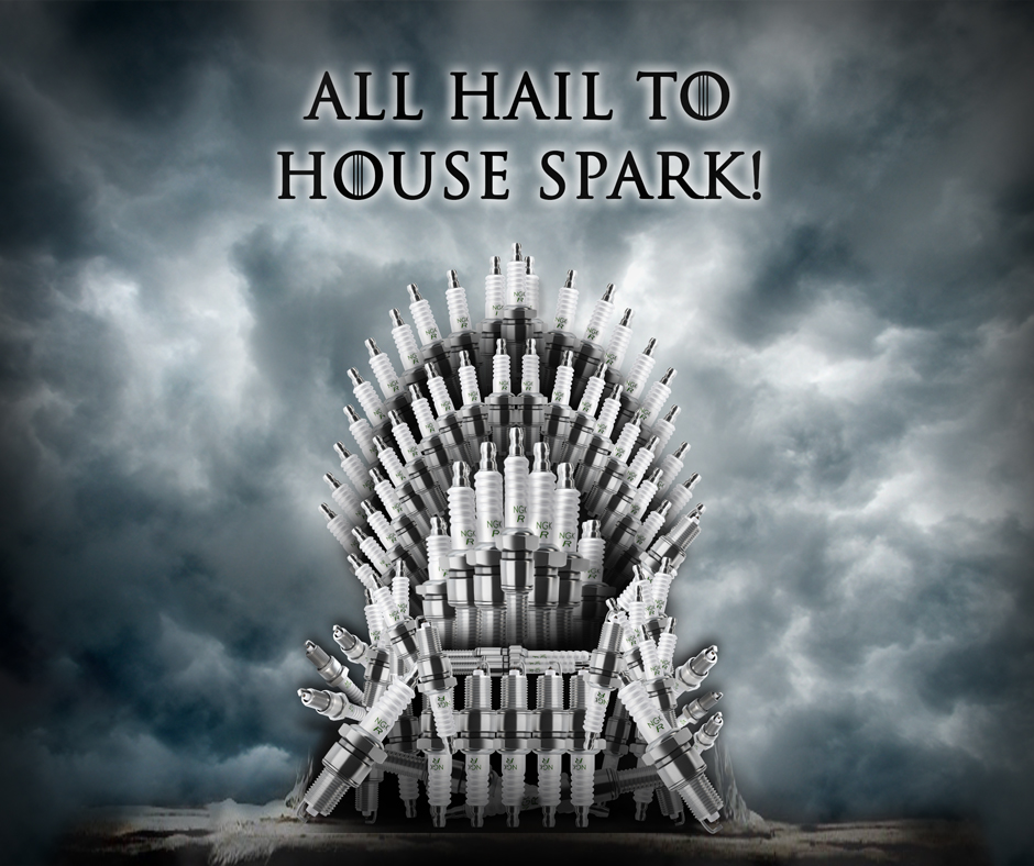 Game of Thrones House Spark Zündkerzen