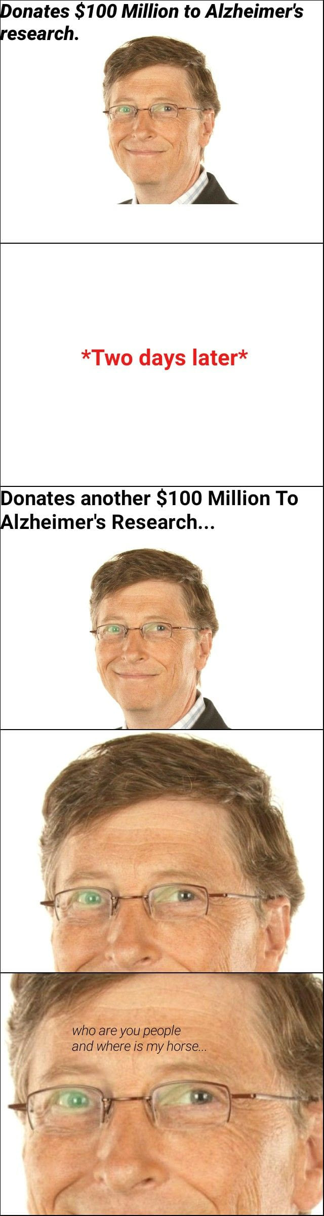 """lustig"" Alzheimer Bill Gates Million Research sfw"