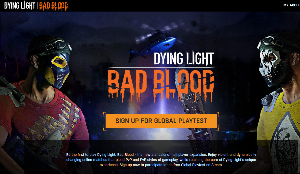 Bad Blood Dying Light Dying Light: Bad Blood playtest steam