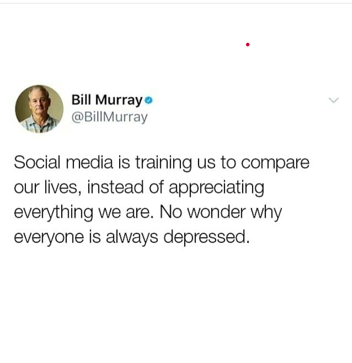 @BillMurray Bill fucking Murray danke roter Punkt depressing Ehrenmann Hat verstanden Lebende Legende OC-Dirnenuploads in Nutshell Ossis in a Nutshell screenshot so true twitter Warheit
