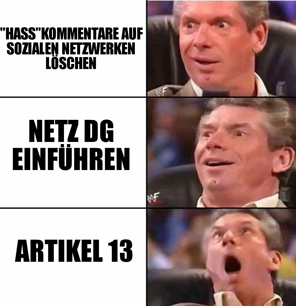 Artikel 13 Expanding Brain Memecontest
